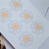 Daisy Floral Greeting Card