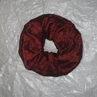 Dark Red Luxury Scrunchie