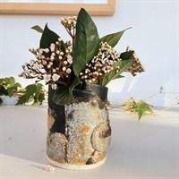 Dartmoor series small stoneware vase