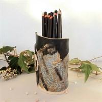 Dartmoor series small stoneware vase #2, quarter turned gallery shot 7