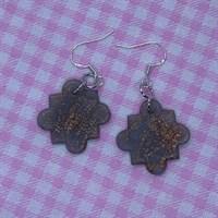 Dusk shimmer moroccan tile dangles 2 gallery shot 4