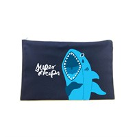 Emo Shark Fabric Pouch
