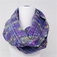 Festival handwoven infinity scarf