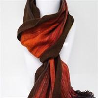 Fireside luxury cashmere scarf gallery shot 5