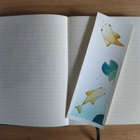Goldfish watercolour bookmark