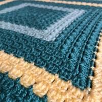 Green Square Blanket