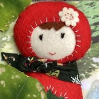 Red Riding Hood All-soft Pocket Doll