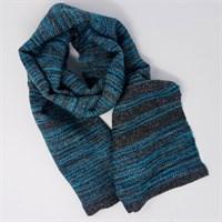 Luxury scarf shown flat gallery shot 12