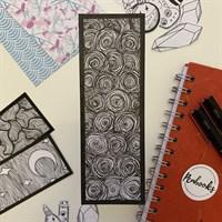 Hand Illustrated Circles Bookmark