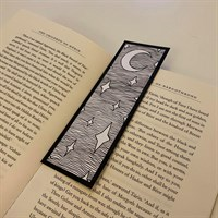 Double-Sided Night Sky Bookmark