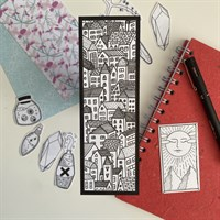 Hand Illustrated Townscape Bookmark