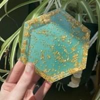 Handmade  Resin jewellery tray
