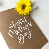 Happy Mother's Day – Brown Recycled