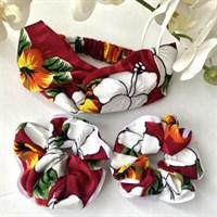 Hawaiian Scrunchies | Headband | Eco