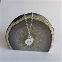 Heart personalised necklaces -