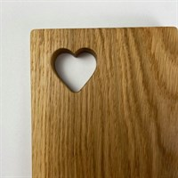 Top View Heart Cutout