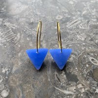 Hoops & Seaglass Triangles