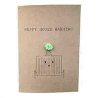 House Warming New Home Radiator Card