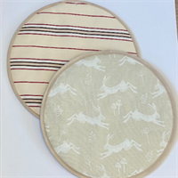 Kitchen Gift Set - Hare Print toppers