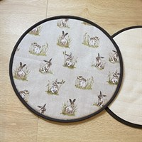 Kitchen Gift Set - Rustic Hare Print toppers