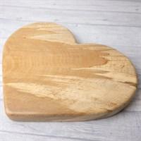 Beech Wood heart board right side