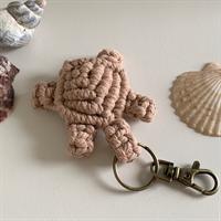 Macrame Turtle Keychain 🐢