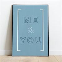 Me & You Print