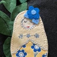 Mishka Pocket Doll Friend