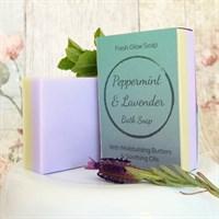 Moisturising Peppermint & Lavender Soap
