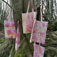 Natural Bundle Dyed Tote Bag collection gallery shot 3