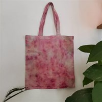 Natural Bundle Dyed Tote Bag galaxy pink this product