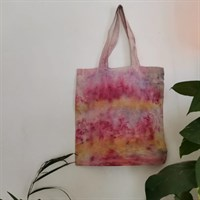 Natural Bundle Dyed Tote Bag Stripe this product