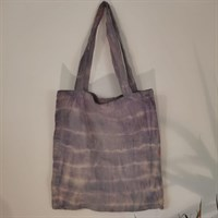 Natural Tie Dyed Tote Bag
