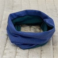 Neck Warmers blue with green gallery shot 10