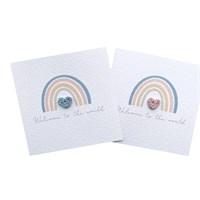 New Born Rainbow Baby Rainbow Baby Card