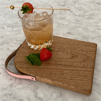 Board with Cocktail