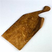 Olive Wood Serving Board Back