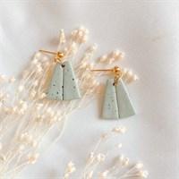 Pastel boho simplistic earrings gallery shot 4