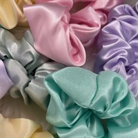 Close up Pastel Collection Satin Scrunchies