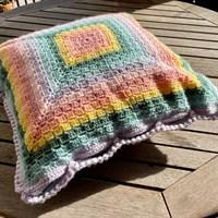 Pastel Rainbow Cushion
