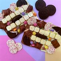 Personalised Belgian Chocolate Slab
