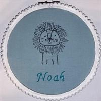 Personalised Name Hoop - Lion