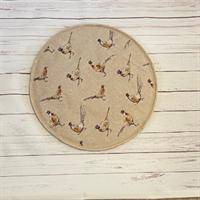 Pheasant Print Kitchen Gift Set topper/stand