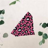 Pink Leopard Print Pet Bandana