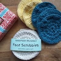 Face scrubbies - 3 colours