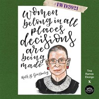 Ruth B. Ginsburg IWD Print