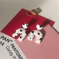 S O F I A arch dangle earrings