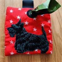 Scottish Terrier poop bag holder