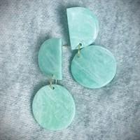 Sea Glass Boho Earrings