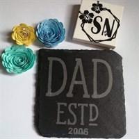 Dad established ( choose personal date)